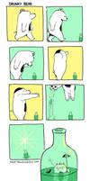 Drunky Bear Bottle Dive by sebreg
