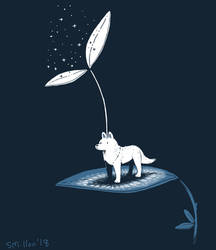 Spirit Wolf by sebreg
