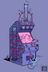 Ring Around The Guillotine Arcade Game