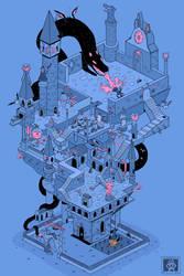 Castle Isometric (Duckwarts Academy)