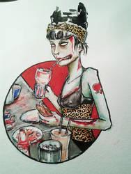 A Zombie Ate Her Brain by zaishu