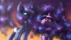 I looove it! [MLP Luna and Twilight]