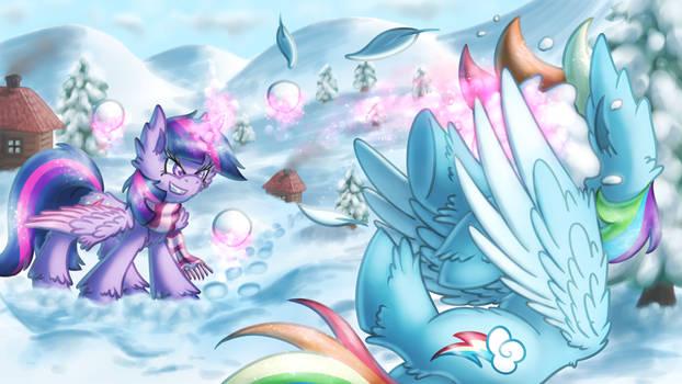 Snowball Fight [MLP]