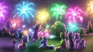 Happy New Year! [MLP] by Shad0w-Galaxy