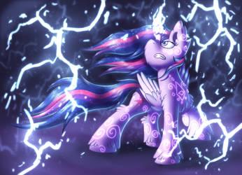 Lightning [MLP Twilight] by Shad0w-Galaxy