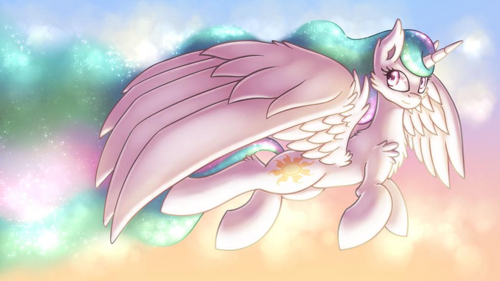 Day [MLP Celestia] by Shad0w-Galaxy