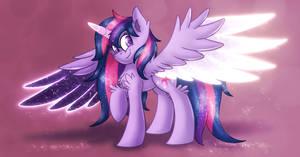 Twilight Sparkle Redesign by Shad0w-Galaxy