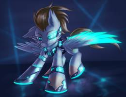ScarX-X [Commission] by Shad0w-Galaxy
