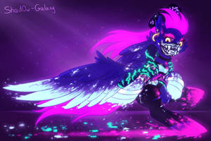 K/DA Rainbow Dash / Akali Neon [MLP x LoL] by Shad0w-Galaxy