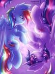Rainbow Twilight [MLP Speedpaint]