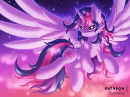 My Own Dusk [MLP Twilight] by Shad0w-Galaxy
