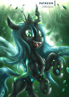 <b>Queen Chrysalis [MLP]</b><br><i>Shad0w-Galaxy</i>