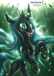 Queen Chrysalis [MLP] by Shad0w-Galaxy