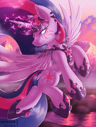 Ultimate Form [MLP Twilight] by Shad0w-Galaxy