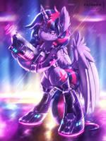 <b>Cyber Twi [MLP Twilight]</b><br><i>Shad0w-Galaxy</i>
