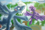 In The Skies [MLP] by Shad0w-Galaxy