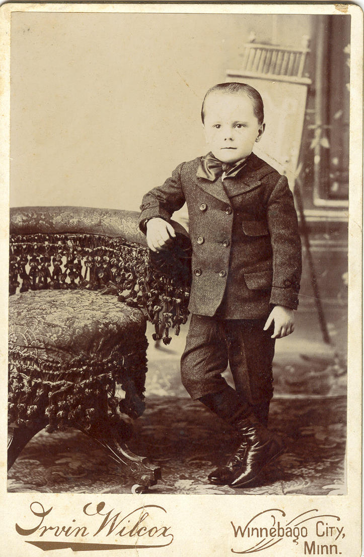 Boy Standing by Glo-Stock-Vintage