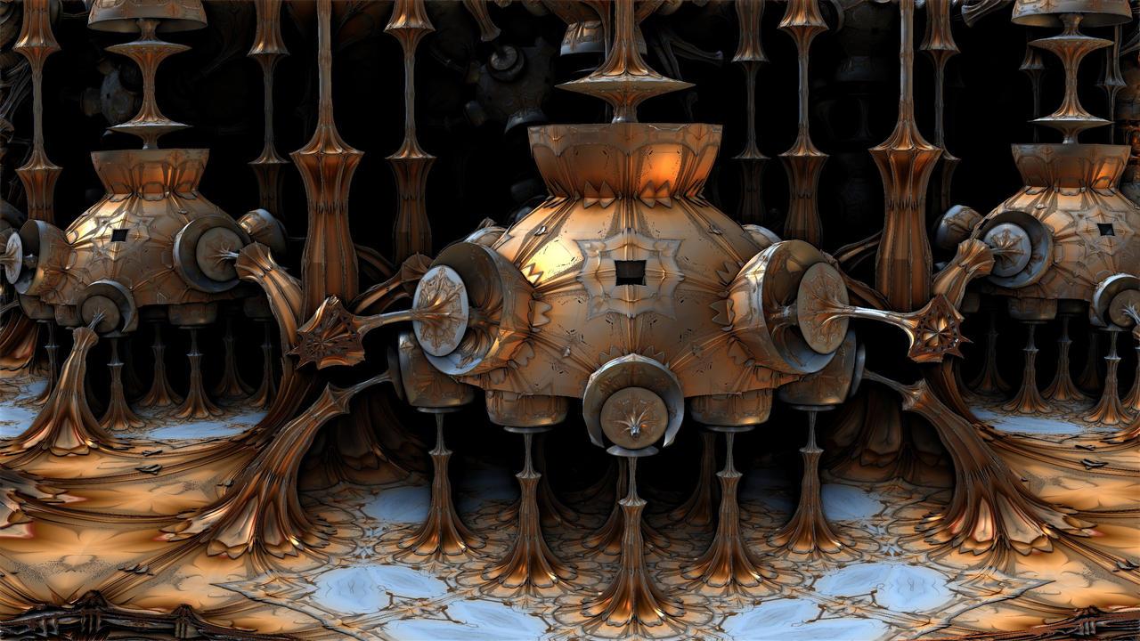 Lunar Landers by HalTenny