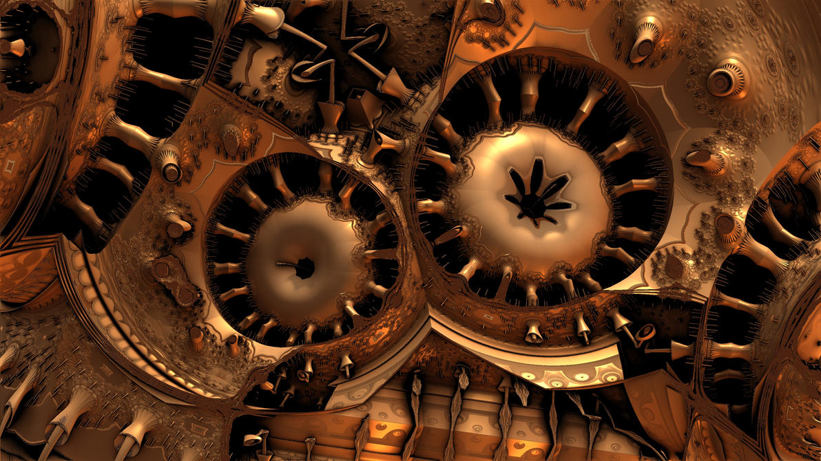 mechanical gears wallpaper hd