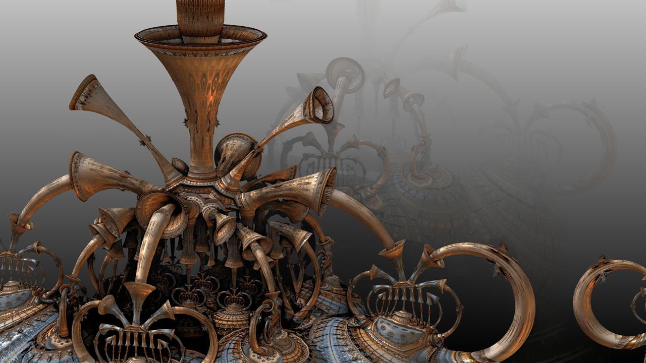 Trumpets Of Doom by HalTenny