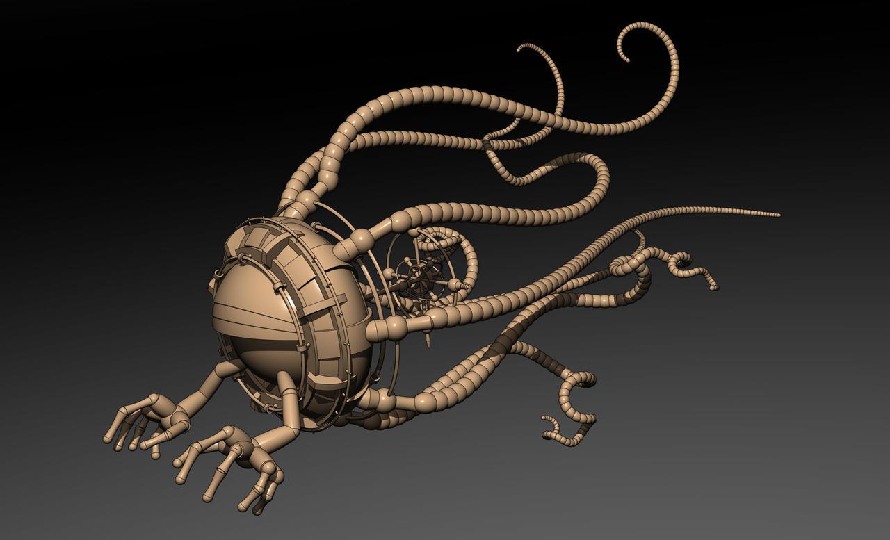 Groboto Sentinel by HalTenny