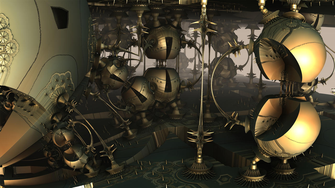 Split Spheres by HalTenny