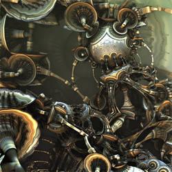 Mechanical Panic by HalTenny