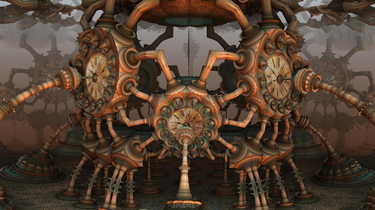Tuber Steam Clock by HalTenny