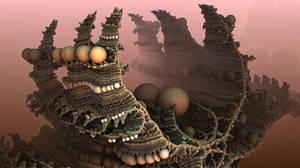 Dragon Egg Mountain by HalTenny