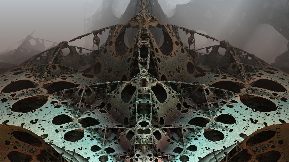 Derelict Space Ship by HalTenny