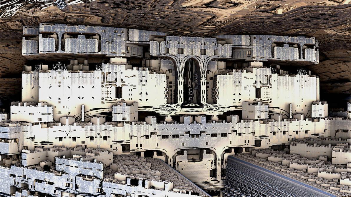 Subterranean City by HalTenny