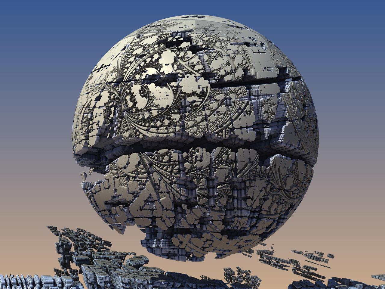 Shattered Sphere