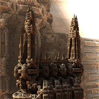 Two Towers by HalTenny