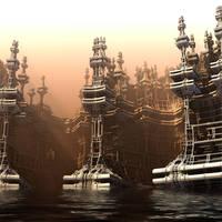 Sinking City by HalTenny