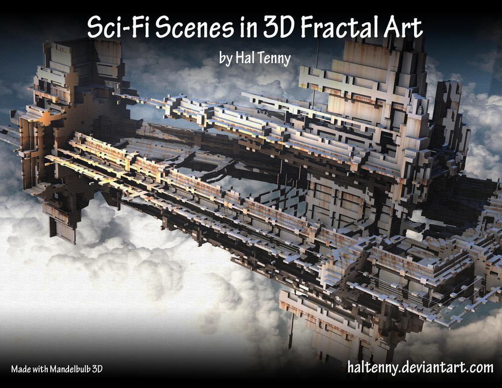 Calendar Art Sci : Sci fi fractal art calendar by haltenny on deviantart