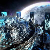 Orbital Platform by HalTenny