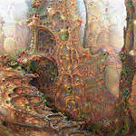 Deep Dream Infected Forest
