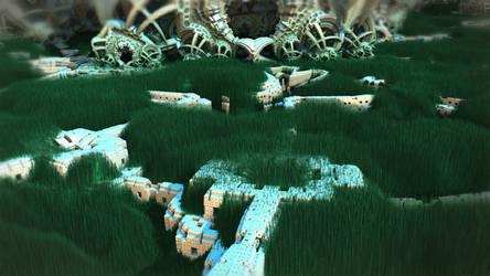 Jungle Ruins by HalTenny