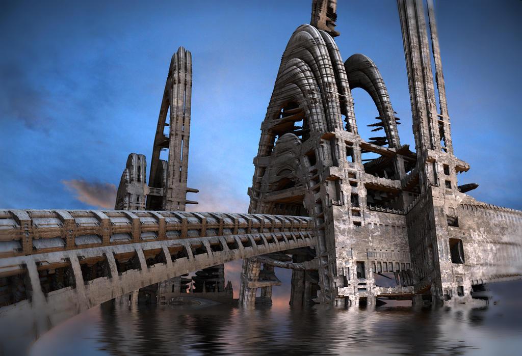 Arched Bridge by HalTenny