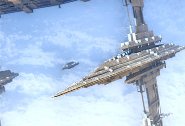Fractal Fleet by HalTenny