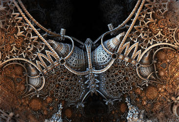 Armored Necklace by HalTenny