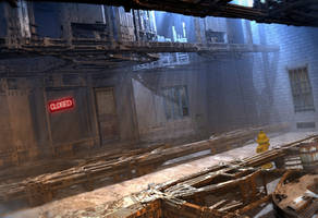 Dead End Alley by HalTenny