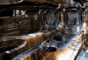 Engine Room by HalTenny