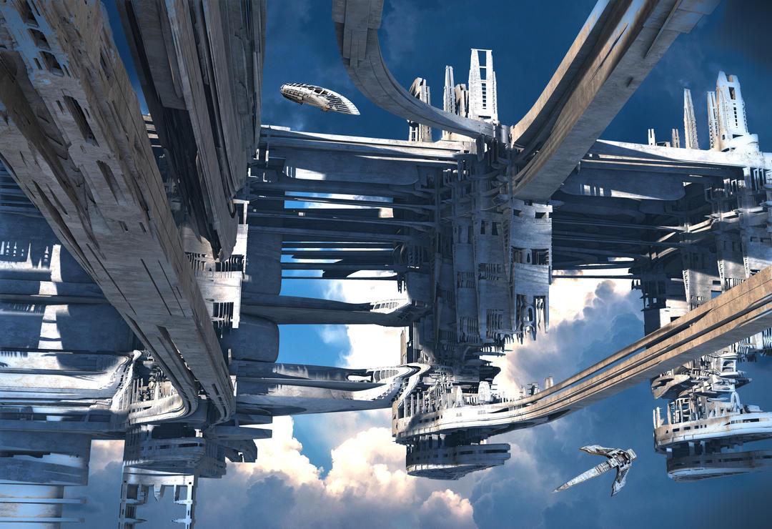 Sky Port Alpha by HalTenny