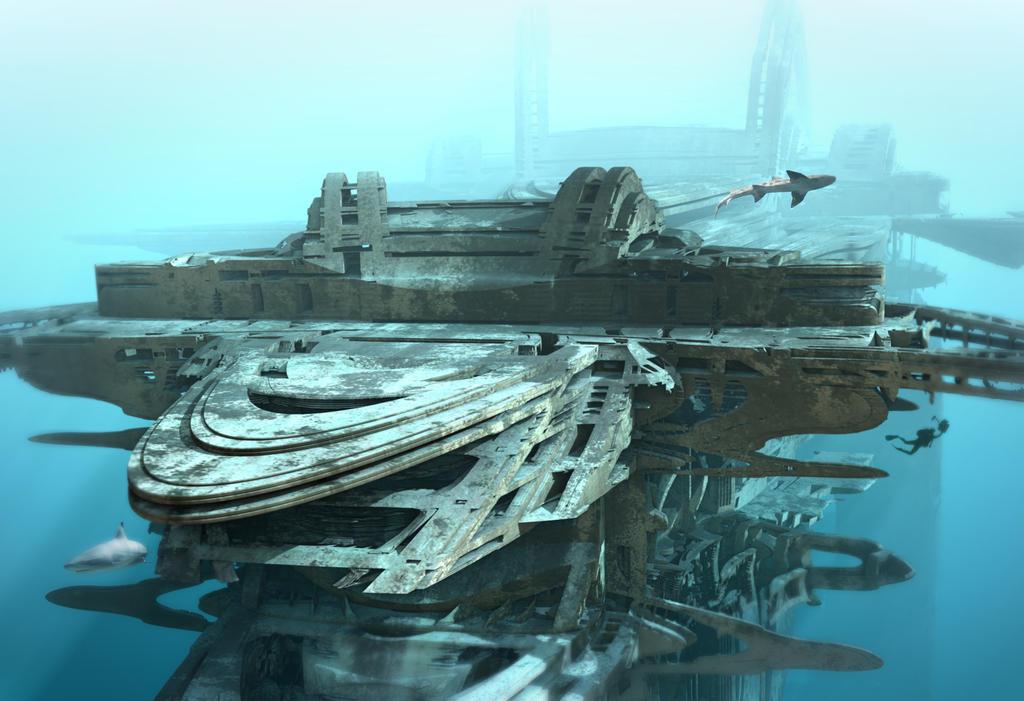 Submerged Sea Lab by HalTenny