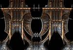Gothic Steampunk Mirror Frame