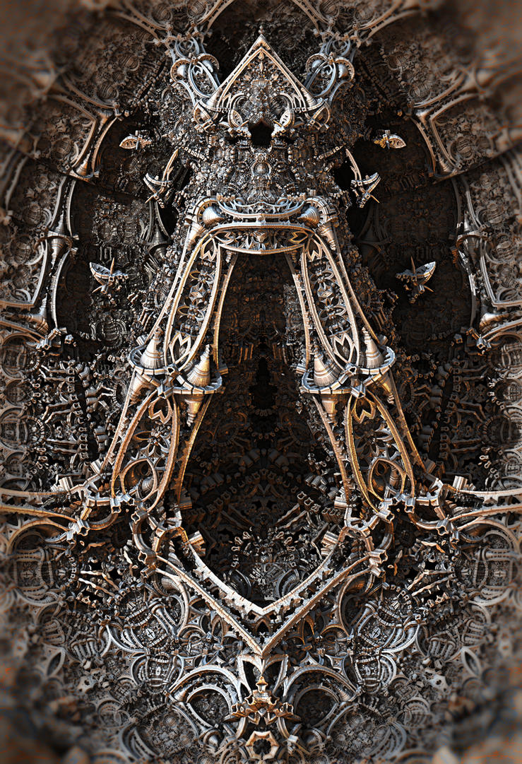 Metal Jewelry Sculpture by HalTenny