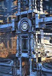 Clock Tower by HalTenny