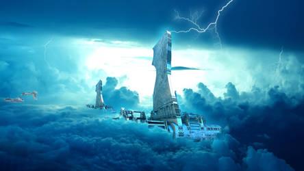 Sky Tower by HalTenny