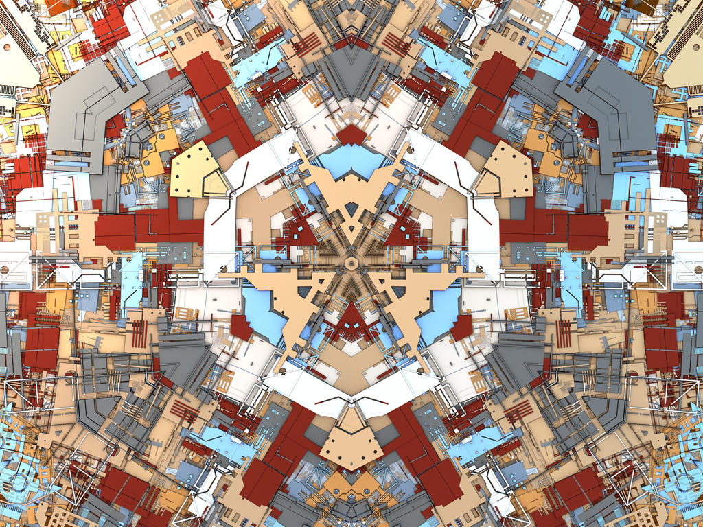 Geometric Abstract by HalTenny